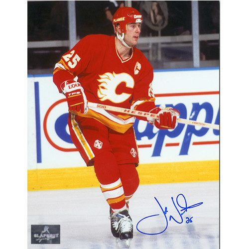 Joe Nieuwendyk Calgary Flames Signed 8X10 Photo
