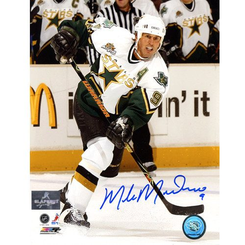 Mike Modano Signed Dallas Stars 8X10 Photo