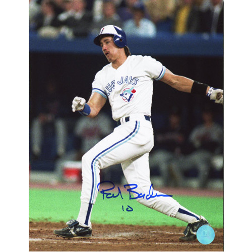 Pat Borders Blue Jays World Series Signed 8x10 Photo