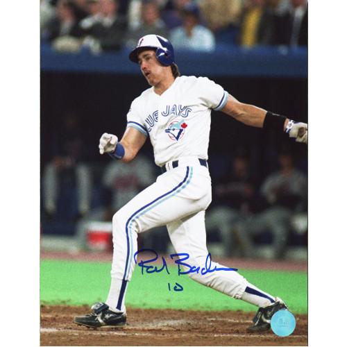 Pat Borders Blue Jays World Series Signed 8x10 Photo