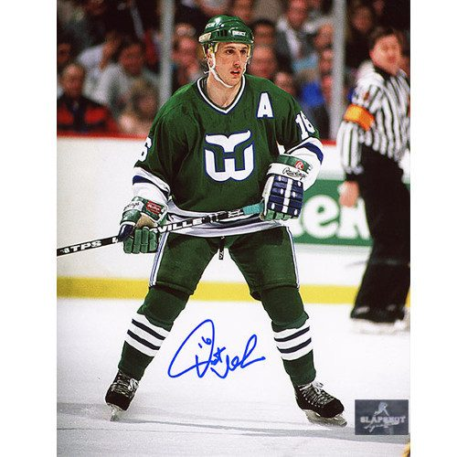 Pat Verbeek Hartford Whalers Signed 8x10 Photo