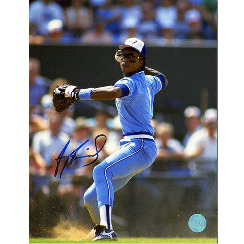 Tony Fernandez Toronto Blue Jays Signed 8x10 Photo