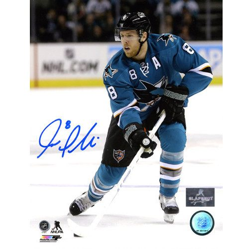 Joe Pavelski San Jose Sharks Autographed 8X10 Photo