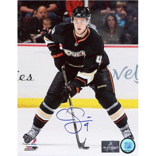 Cam Fowler Anaheim Ducks Signed 8x10 Rookie Photo