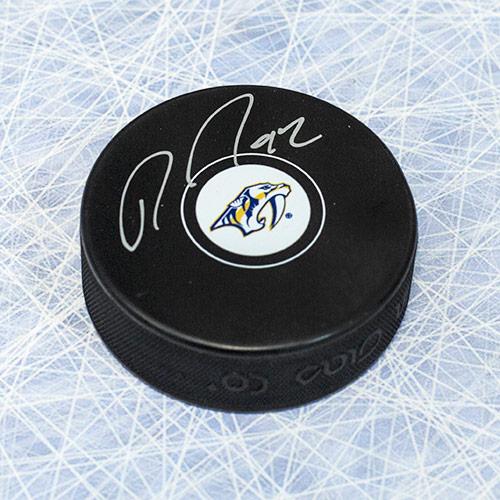 Ryan Johansen Autographed Puck-Nashville Predators