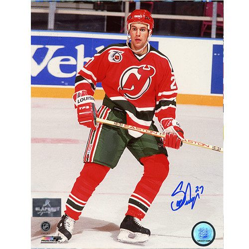 Scott Niedermayer Rookie New Jersey Devils Signed 8x10 Photo