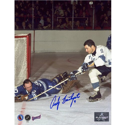 Andy Bathgate Signed Pittsburgh Penguins 8x10 Photo