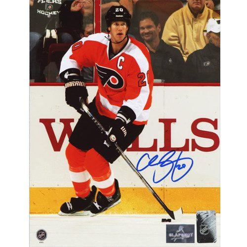 Chris Pronger Philadelphia Flyers Signed Photo 8X10