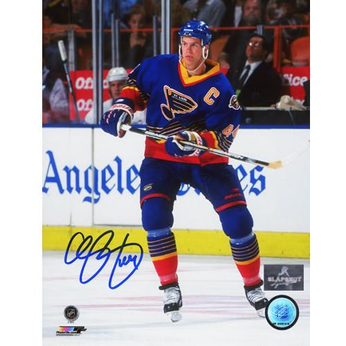 Chris Pronger Captain St Louis Blues Signed Photo 8X10