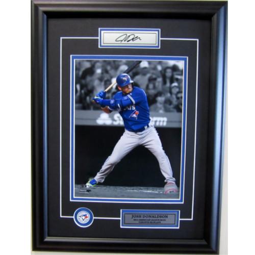 Josh Donaldson Toronto Blue Jays Unsigned MVP Framed 8X10 Photo