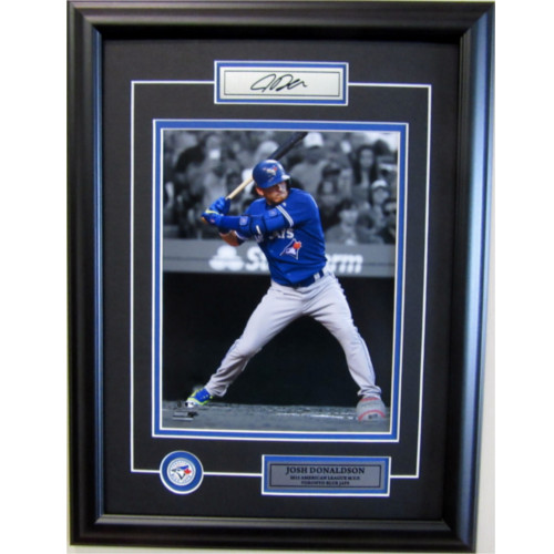 Josh Donaldson Toronto Blue Jays Unsigned MVP Framed 8X10 Photo