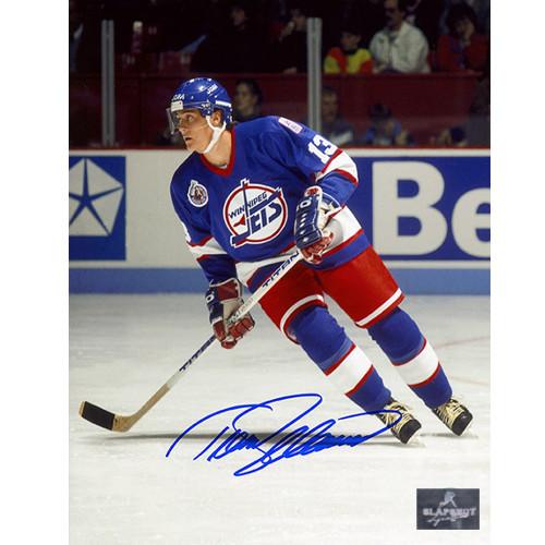Teemu Selanne Winnipeg Jets Signed 8X10 Action Photo