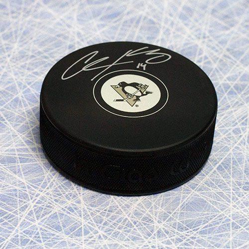 Chris Kunitz Penguins Signed Hockey Puck