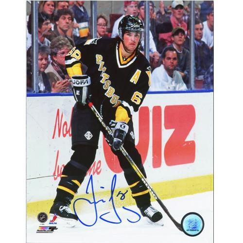 Jaromir Jagr Pittsburgh Penguins Signed 8X10 Photo