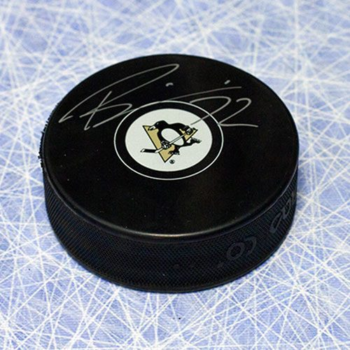 Patric Hornqvist Pittsburgh Penguins Signed Hockey Puck