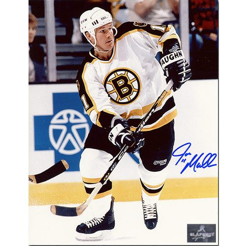Joe Mullen Boston Bruins Signed 8X10 Photo