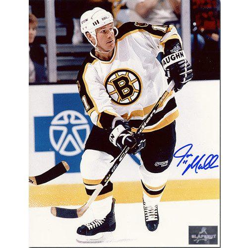 Joe Mullen Boston Bruins Signed 8X10 Photo