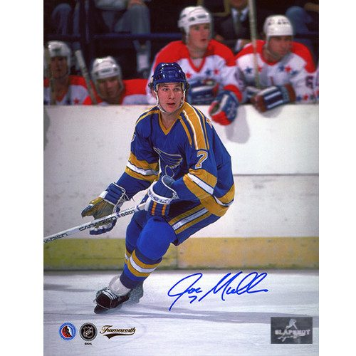 Joe Mullen St Louis Blues Signed 8X10 Photo