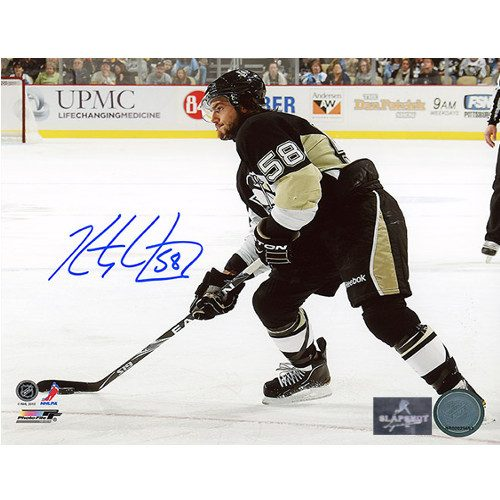 Kris Letang Pittsburgh Penguins Signed 8X10 Photo