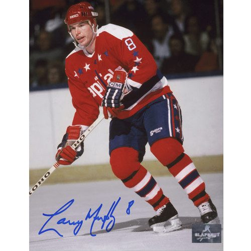 Larry Murphy Washington Capitals Signed 8X10 Photo