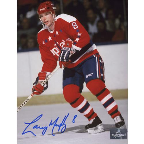 Larry Murphy Washington Capitals Signed 8X10 Photo
