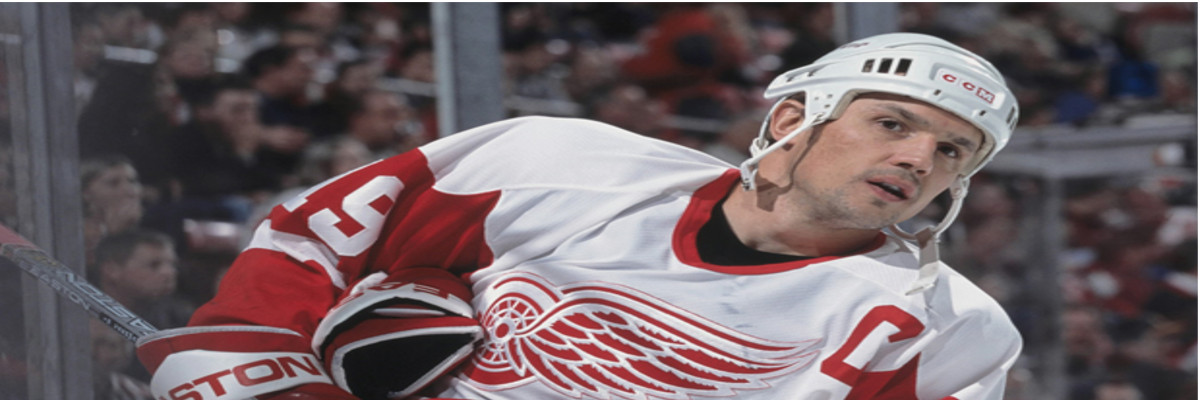 Detroit Red Wings Legend Steve Yzerman – Slap Shot Signatures Player Profile