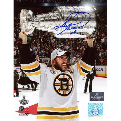 Mark Recchi Boston Bruins Stanley Cup Signed 8x10 Photo