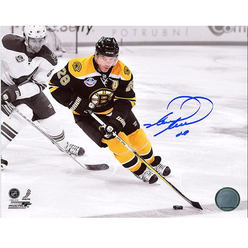 Mark Recchi Boston Bruins Spotlight Signed 8x10 Photo