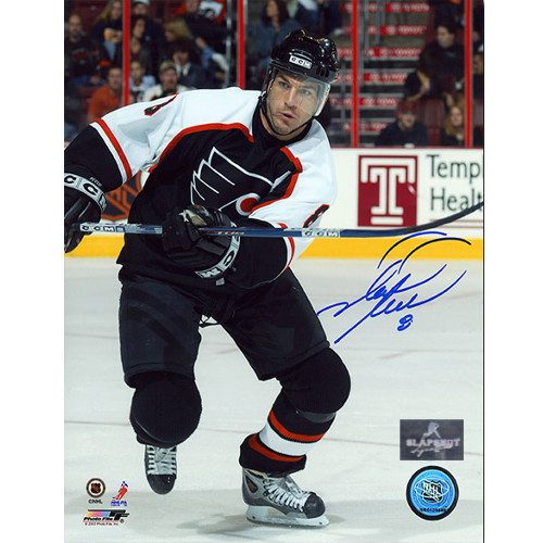 Mark Recchi Signed Photo-Philadelphia Flyers Action 8x10