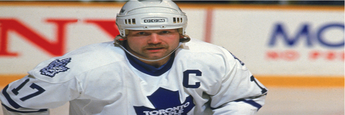 Toronto Maple Leafs Legend Wendel Clark– Slap Shot Signatures Player Profile