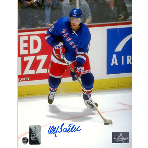 Ulf Samuelsson New York Rangers 8x10 Signed Photo