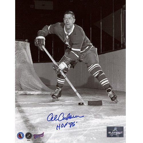 Al Arbour Toronto Maple Leafs Signed 8x10 Photo