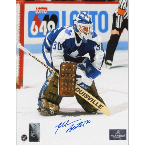 Allan Bester Goalie Photo-Toronto Maple Leafs Signed 8x10