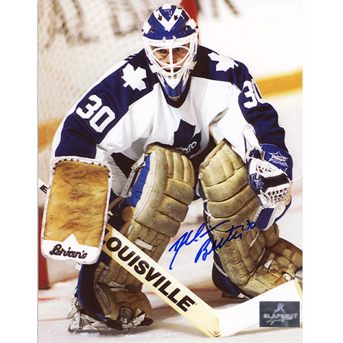 Allan Bester Toronto Maple Leafs Signed 8x10 Photo