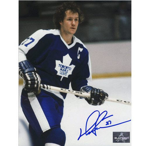 Darryl Sittler Toronto Maple Leafs Autographed Captain Close-Up 8x10 Photo