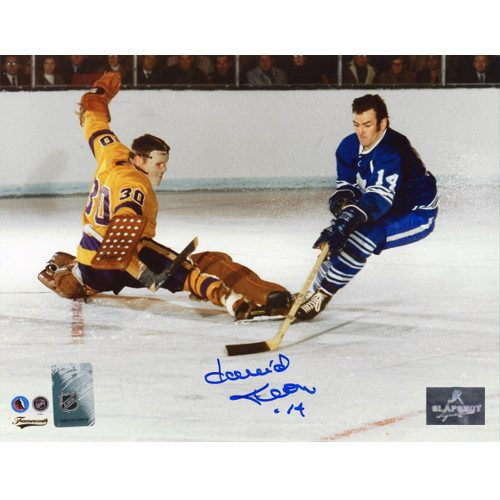 Dave Keon Signed Toronto Maple Leafs Breakaway Goal 8x10 Photo