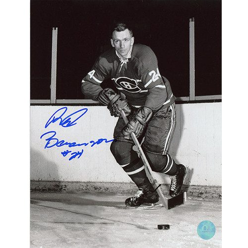 Red Berenson Montreal Canadiens Autographed 8x10 Photo