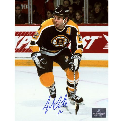 Adam Oates Boston Bruins Signed Photo-Skating Action 8x10