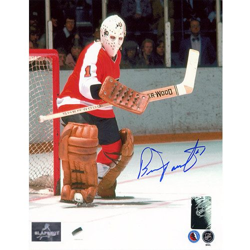 Bernie Parent Goalie Philadelphia Flyers Signed Photo 8x10