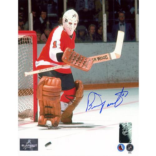 Bernie Parent Goalie Philadelphia Flyers Signed Photo 8x10