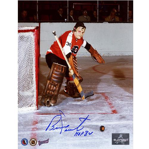 Bernie Parent Philadelphia Flyers Signed Photo 8x10 Expansion Season