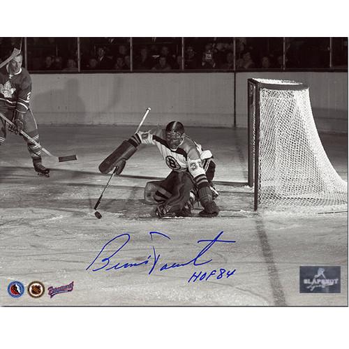 Bernie Parent Rookie Goalie Signed Photo-Boston Bruins 8x10