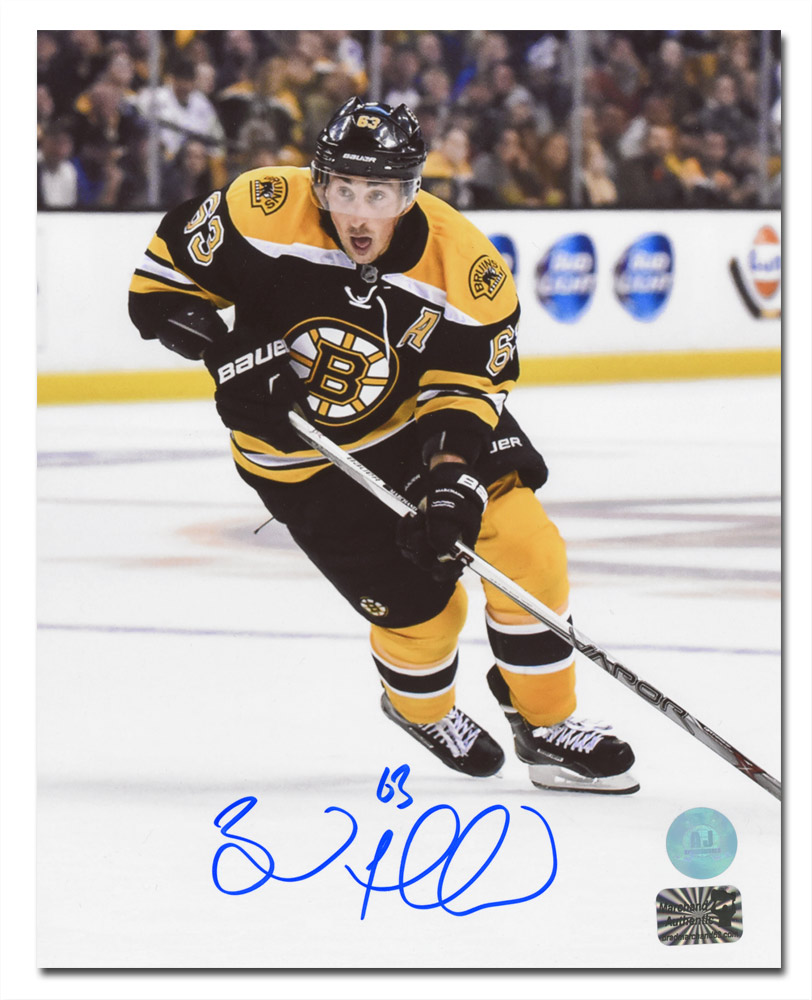 Brad Marchand Boston Bruins-Signed Playmaker Photo 8x10