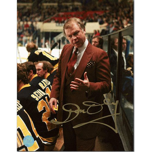 Don Cherry Bruins Coach-Autographed 8x10 NHL Photo