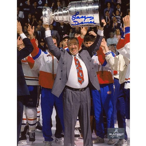 Jacques Demers Signed Photo-Montreal Canadiens Stanley Cup 8x10