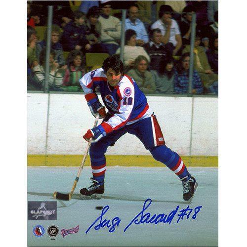 Serge Savard Winnipeg Jets Autographed 8x10 Photo
