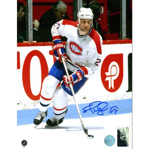 Shayne Corson Autographed Photo-Montreal Canadiens 8x10