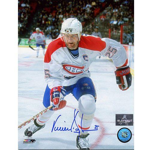 Vincent Damphousse Montreal Canadiens Captain 8x10 Signed Photo