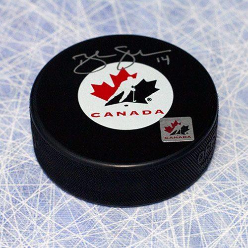 Brendan Shanahan Team Canada Autographed Olympic Hockey Puck