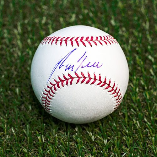 George Bell Autographed Baseball Official MLB Baseball Toronto Blue Jays